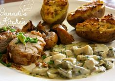 Hungarian Recipes, Hungarian Food, Pork Recipes, Baked Potato, Bacon, Favorite Recipes, Meals, Dishes, Ethnic Recipes