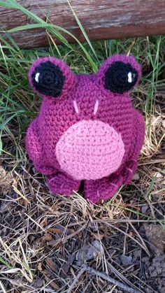 Purple Frog  https://www.etsy.com/listing/244068888/purple-frog