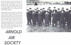 1956-57 Arnold Air Society. From the 1957 Oregana (University of Oregon yearbook). www.CampusAttic.com