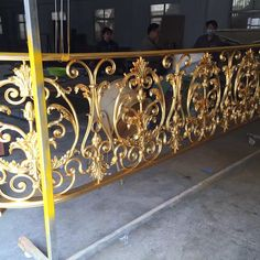 Grill Gate Design, House Gate Design, Interior Stair Railing, Staircase Design, Railings, Grills, Wrought Iron, Art Deco, Doors