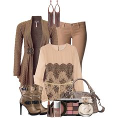 """""""Boots and Cardigan"""" by snowshoekittens on Polyvore"""