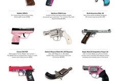 12 types of guns for girls.