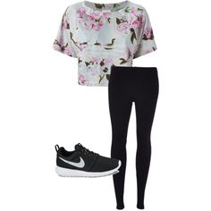 Let's Sport by vasy92 on Polyvore featuring polyvore, moda, style, adidas, Scoop and NIKE