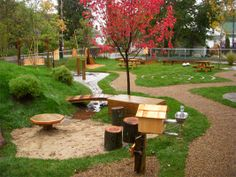 Natural Playspace- nsw play safe guidelines