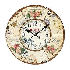 Euro Country Wall Clock – AUD $ 24.39