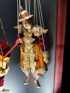 General - Marionetas do Myanmar