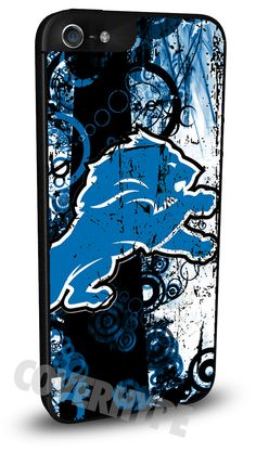 Detroit Lions Cell Phone Hard Case for iPhone 6, iPhone 6 Plus, iPhone 5/5s, iPhone 4/4s or iPhone 5c