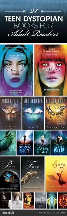 Teen Dystopian Novels for Adult Readers Looking for a new dystopian world to escape to? Check out these 21 teen dystopian books for adult readers.Looking for a new dystopian world to escape to? Check out these 21 teen dystopian books for adult readers. Ya Books, I Love Books, Good Books, Books To Read, Reading Books, Reading Lists, Book Lists, Book Suggestions, Book Recommendations