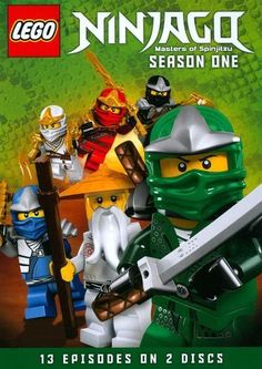 Shop LEGO Ninjago: Masters of Spinjitzu Season 1 [DVD] at Best Buy. Find low everyday prices and buy online for delivery or in-store pick-up. Lego Ninjago, Ninjago Party, Ninjago Games, Ninjago Dragon, Lloyd Ninjago, Streaming Hd, Edible Cake Toppers, English Movies, Buy Lego