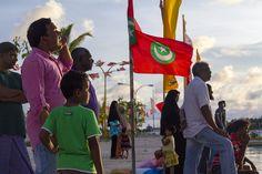 Locals in the Maldives
