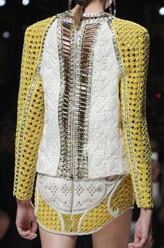 Balmain at Paris Fashion Week Spring 2013