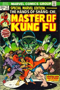 #MARVEL Comics Group [] The Hands of #ShangChi [] Master from #Kungfu []