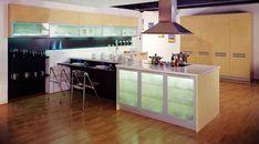 Marvelous Glass For Kitchen Cabinet Doors