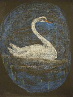Waldorf ~ 1st grade ~ Letter: S ~ Swan