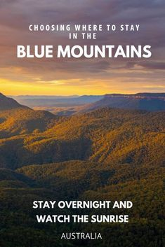If you are finding deciding where to stay in the Blue Mountains difficult we can help.  We have written up our thoughts on the Blue Mountains villages of Katoomba, Leura, Wentworth Falls and Blackheath to help you get a feel for which one is best for your holiday. #Bluemountains #Australia