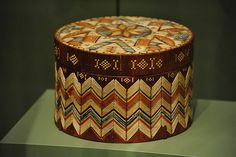 """beautiful quill work box """"INFINITY OF NATIONS""""  Celebrating the NW Coast - National Museum of the American Indian, Lower Manhattan NYC - 03/21/11 (by asterix611)"""