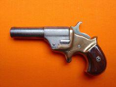 ".41 caliber, single Shot Derringer, 2 3/4"" half round half octagon barrel"