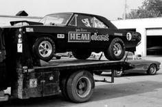 1968 Dodge Dart Hemi Super Stock car.