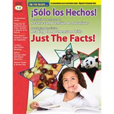 SOLO LOS HECHOS! JUST THE FACTS! GR. 1-3 ALIGNED TO COMMON CORE (e-Book)