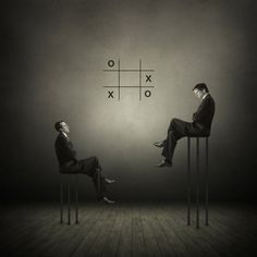 Mind Games, Philip McKay. Surrealistic. Limited edition print. A surreal yet sophisticated addition to any home office.