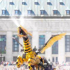 Ottawa 2017 Events: La Machine Takes Over Ottawa Ottawa 2017, 2017 Events, Like A Local, Statue Of Liberty, Activities, City, Pictures, Travel, Liberty Statue