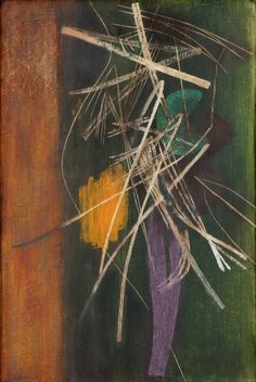 'Composition' (1945) by Hans Hartung