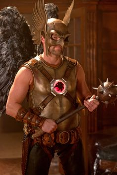 """Credit to actor Michael Shanks and the """"Smallville"""" costume crew for making Hawkman seem as intimidating as he is in the comics world. Description from mtv.com. I searched for this on bing.com/images"""