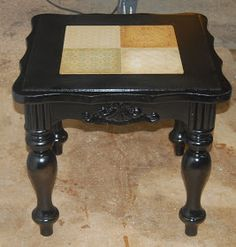 That's So Cuegly: END TABLE REFURBISH