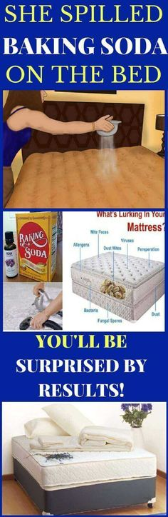 SHE SPILLED BAKING SODA ON THE BED AND AFTER 30 MINUTES EVERYONE WAS SPEECHLESS: WHEN YOU SEE WHY, YOU WILL DO THE SAME! (VIDEO) - Magical Useful Tips