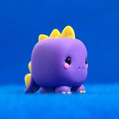 Kawaii Dinosaur Cube by Jenn and Tony Bot, via Flickr