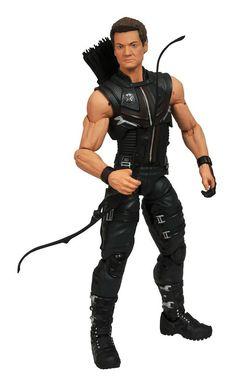Figura The Avenger 2012. Hawkeye (Ojo de Halcón), Marvel Select, 18cm