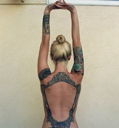 Lovely back piece #tattoo