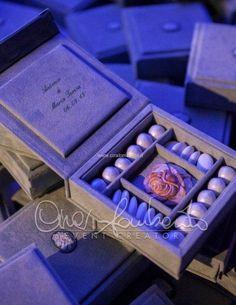 Cadeau de mariage prezioso e raffinato presentato con eleganza e classe.   Cira Lombardo Wedding Planner