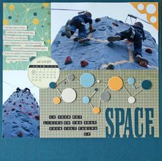 Cool Scrapbook Layouts for Boys and Men/CK article