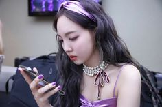 Twice-Nayeon MCount Down Back Stage Photo by Jeongyeon South Korean Girls, Korean Girl Groups, Twice Tzuyu, Nayeon Twice, Im Nayeon, Dahyun, Feeling Special, Reaction Pictures, Kpop Girls
