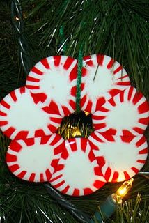 melted starlight peppermint wreaths