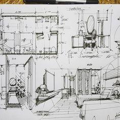 Sketche interior design