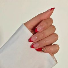 The new popular trendy nails ideas – Nails The new popular … Die neuen beliebten trendigen Nagelideen. Stylish Nails, Trendy Nails, Cute Acrylic Nails, Cute Nails, Acrylic Nail Tips, Summer Acrylic Nails, Hair And Nails, My Nails, Red Tip Nails