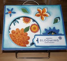 Creating With Joan: Blooming Birthday