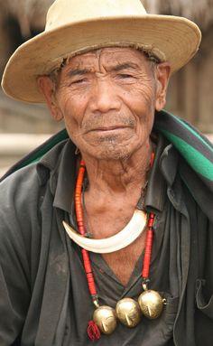 Naga tribe (but looks like very contemporary jewelry ...)