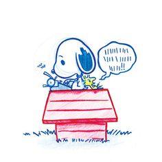 Snoopy! A5 Print!
