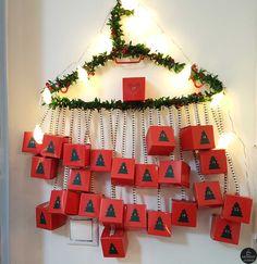 Φτιάξετε ημερολόγιο αντίστροφης μέτρησης για τα Χριστούγεννα
