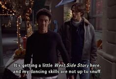 It's getting a little West Side Story here, and my dancing skills are not up to snuff.  #JessLove