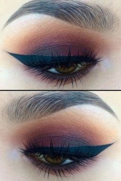 Sexy Smokey Eye Makeup Ideas to Help You Catch His Attention #hoodedeyemakeup