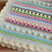 Crocheting: Crochet Baby Blanket Pattern