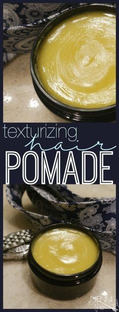 DIY Hair Pomade - DIY hair ointment Best Picture For gold Accessories For Your Taste Yo - Remove Unwanted Facial Hair, Unwanted Hair, Best Natural Hair Products, Natural Hair Styles, Beauty Products, Diy Hair Products, Natural Haircare, Natural Beauty, Diy Hair Wax
