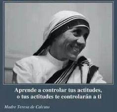 Madre Teresa de Calcuta.
