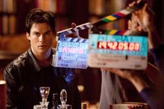 The Vampire Diaries - Behind the scenes with Ian