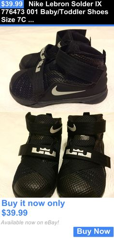 Infant Shoes: Nike Lebron Solder Ix 776473 001 Baby/Toddler Shoes Size 7C New BUY IT NOW ONLY: $39.99