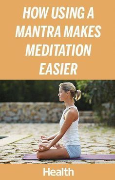 No question about it: meditation can be challenging. For many people, sitting calmly and letting go of negative thoughts comes totally naturally. But for others, clearing the brain of daily chaos and stress can be nearly impossible. If you fall into the l Meditation For Health, Meditation For Beginners, Meditation Benefits, Healing Meditation, Meditation Practices, Yoga Meditation, Mantra, Buddhist Meditation Techniques, Learn To Meditate